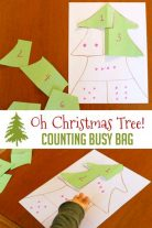 A fun busy bag for preschoolers this Christmas