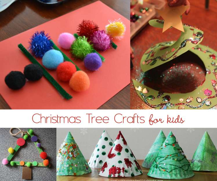 Christmas Tree Crafts Activities For Kids