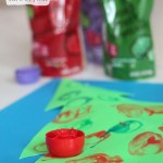 Decorate a Christmas Tree with Ella's Kitchen Baby Food Pouch Caps