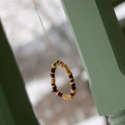 Classic bird feeder craft - 1 of the 28 winter crafts for kids to make