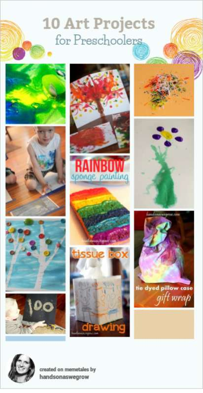 10 Creative Art Activities For Preschoolers Hands On As We Grow