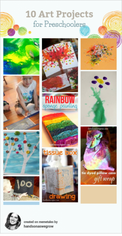10 Creative Art Activities for Preschoolers