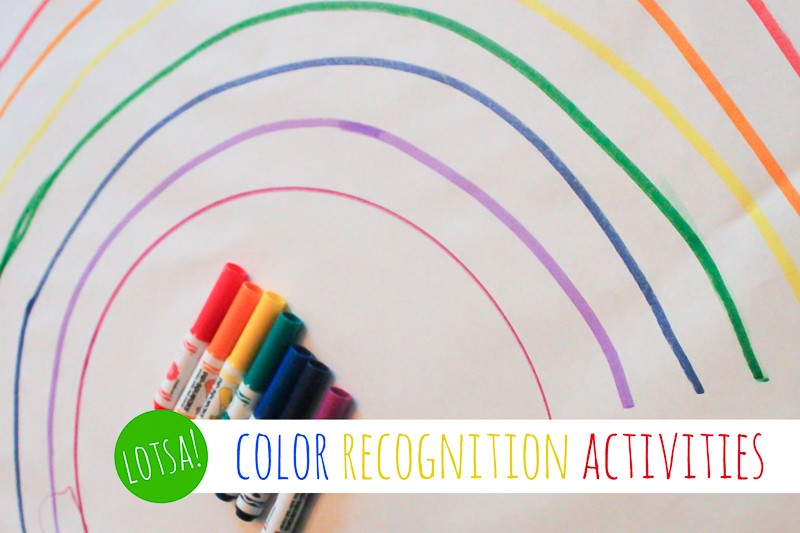 Lotsa Color Recognition Activities for Preschoolers
