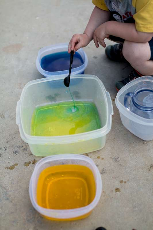 Colored Water Transfer Play For Toddlers Hands On As We Grow