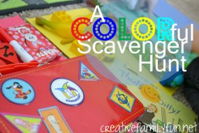 A COLORful Scavenger Hunt