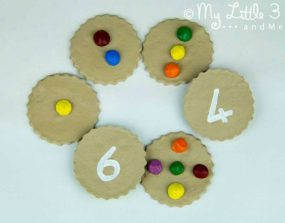 Counting Cookies from My Little 3 and Me
