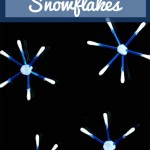 Cotton Bud [Q-Tip] Snowflake Craft