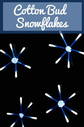 cotton-bud-snowflakes