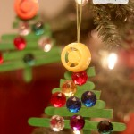 Craft Stick Christmas Tree Ornaments