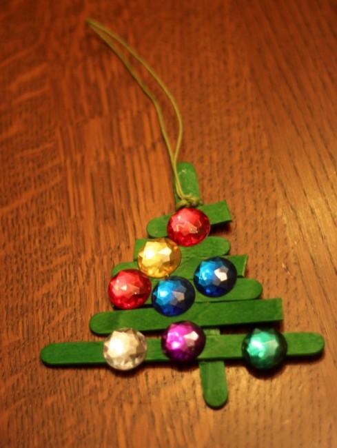 string to hang the christmas tree ornament - Stick Christmas Tree