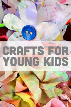 Many simple crafts for kids to do