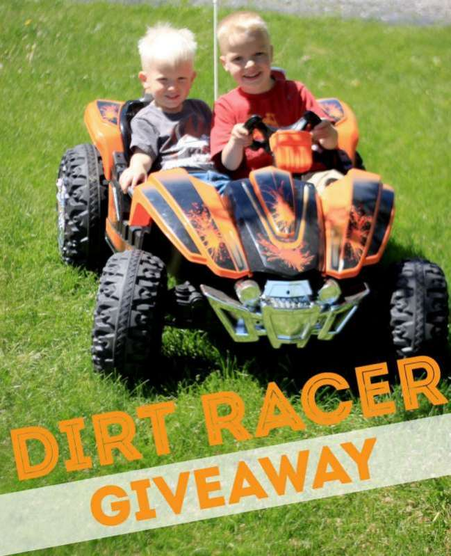 Monster TRAX Dirt Racer 22 Giveaway!