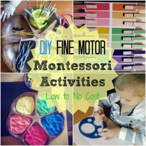 DIY Montessori Fine Motor Activities from Racheous – Lovable Learning