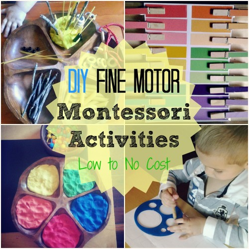 diy montessori fine motor activities from racheous