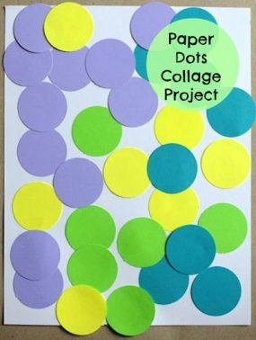 Circles and Glue Make a Fun Art Project from Artchoo!