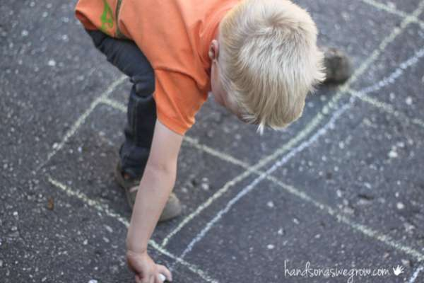 Drawing the grid for the counting maze
