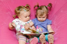 Teaching Toddlers: 5 Building Blocks for Your Future Reader from Mommy Matters