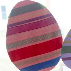 Ribbon Easter Egg from hands on : as we grow