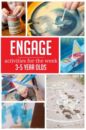 A week of simple activities to do with preschoolers