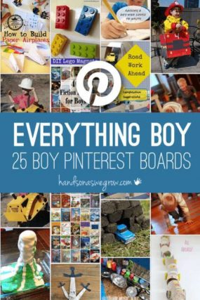Everything for boys! 25 Pinterest boards for everything boy related