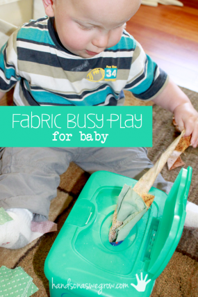 Fabric busy play for babies