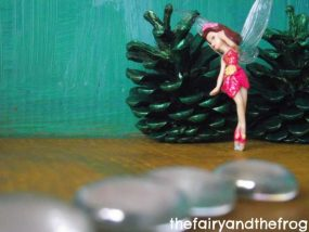 Pretend play fairy forest from The Fairy & the Frog