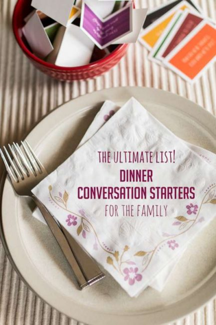 Ultimate List of Conversation Starters for Every Family