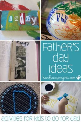 8 Father Day activities for kids to do for Dad