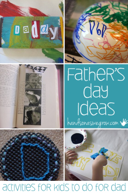 8 Father's Day activities for Kids to do for Dad