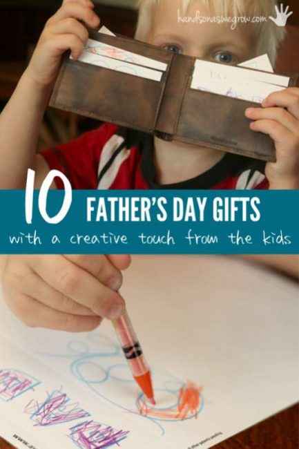 10 Father's Day Gifts with a Creative Touch from the Kids
