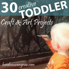 30 Creative Toddler Craft & Art Projects