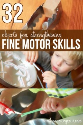 32 objects that help kids strengthen their fine motor skills (plus activities to do with them)