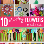 10 Stunning Flower Crafts to Make Mom