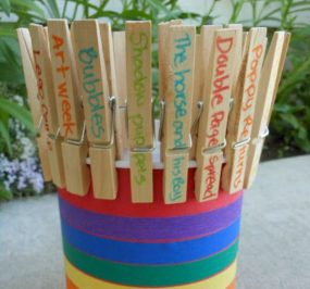 Summer Bucket List Bucket from A Mom with a Lesson Plan