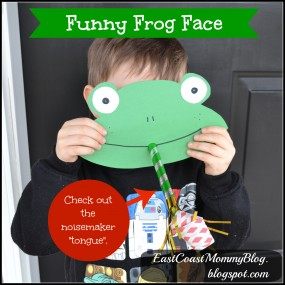 Funny Frog Face from East Coast Mommy