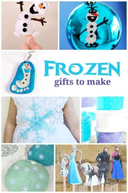 Frozen gift ideas for the kids that I can make