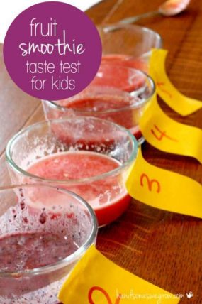 A Taste Test for Kids: See It, Smell It, Taste It!
