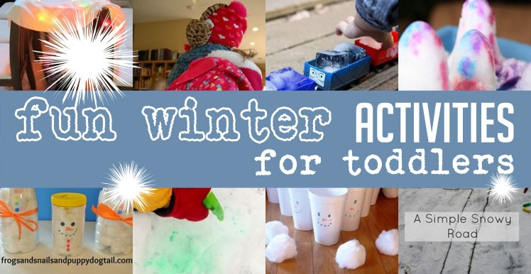 Fun Winter Activities For Toddlers To Do And Cute Crafts Make Too