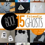 Boo! 15 Friendly Ghost Crafts for Kids to Make