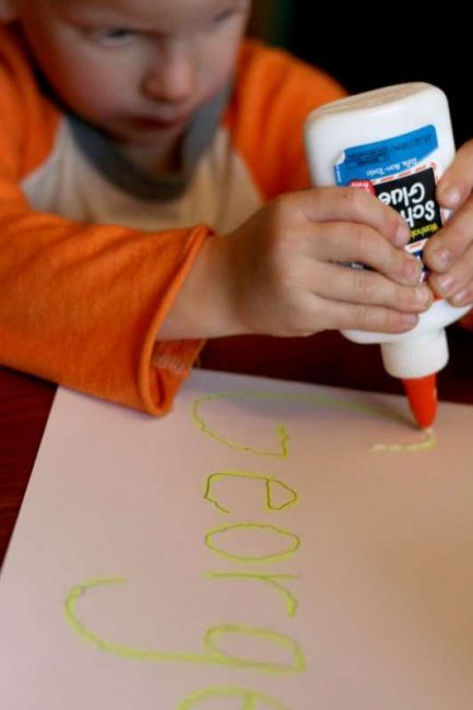 Name tracing with glue