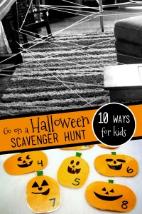 10 Ways to Go on a Halloween Scavenger Hunt
