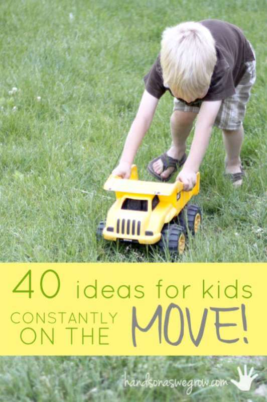 40 Gross Motor Activities To Get Your Kids Moving