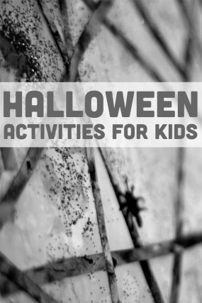 Halloween doesn't have to be all spooky, it can be lots of fun and playful with these Halloween activities for kids.
