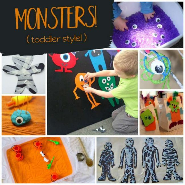 Halloween Activities For Toddlers That Are Not So Scary