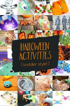 26 Icky & Ooey Halloween Activities for Toddlers