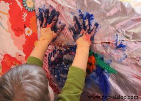 Foil, Feathers, Fingerpaint…Fabulous!