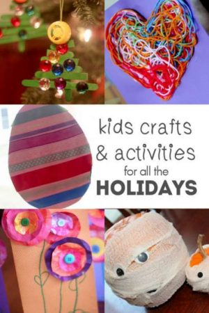 All the holiday crafts and activities for kids to do