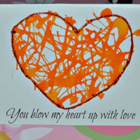 ... Kid Made Card Valentine For School