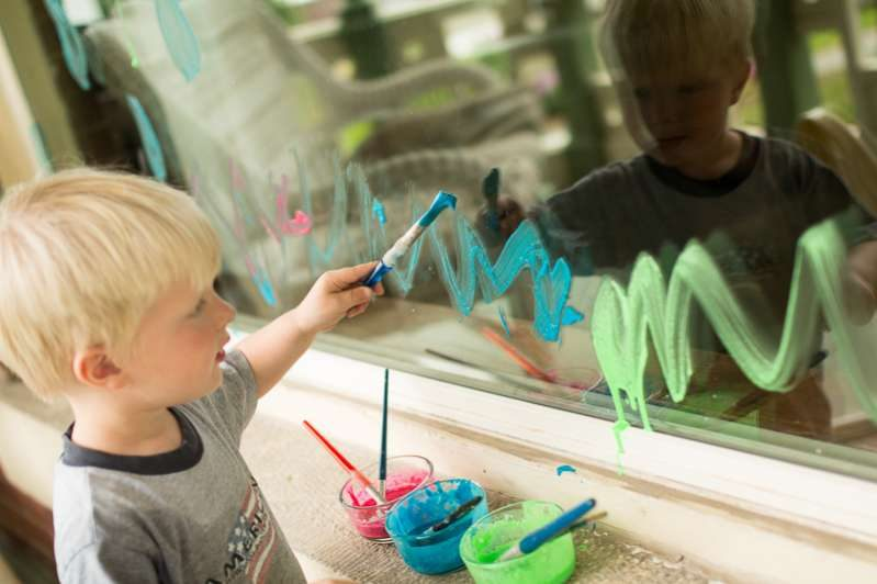 These look like fun summer art projects we need to do with the kids!