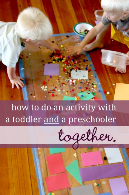 How to do an activity with a toddler preschooler together 3 questions to ask yourself before doing an activity with both a toddler and a preschooler solutioingenieria Gallery